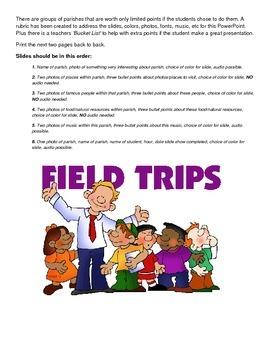 LOUISIANA - Mini Field Trip PPt pesentation