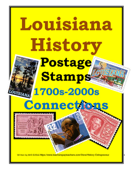 LOUISIANA  MrE's Postage Stamp Connections