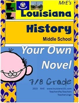 LOUISIANA - My Own Novel
