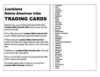 LOUISIANA - NA trading cards