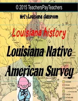 LOUISIANA - Native American Survey Graphic Organizer