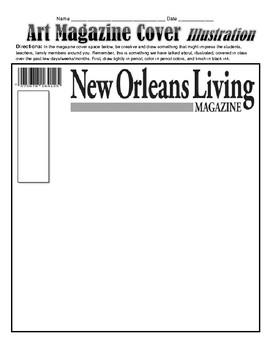 LOUISIANA-  New Orleans Magazine Covers