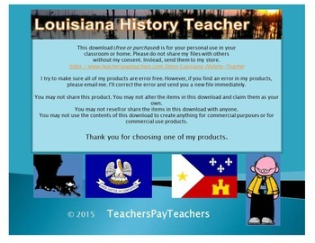LOUISIANA - NewDeal vs Share Our Wealth