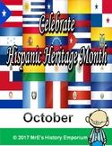 LOUISIANA & OCTOBER is Hispanic Heritage Month