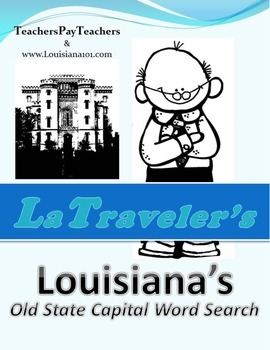 LOUISIANA - Old State Capital Word Search
