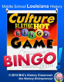 LOUISIANA    Our Culture BINGO game
