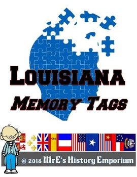 LOUISIANA Our Matching/Memory Style Game