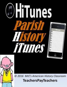 """LOUISIANA  Parish History """"HiTunes"""" Playlist"""