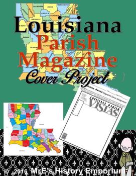 LOUISIANA  Parish Magazine Cover Project