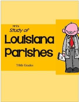 LOUISIANA - Parish Research and Tests