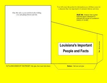LOUISIANA - Pocket Folder