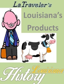 LOUISIANA - Products map