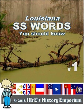 LOUISIANA  Social Studies Words You Should Know From Ch. 01