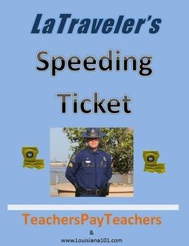 LOUISIANA - Speeding ticket