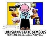 LOUISIANA - State Symbols Game
