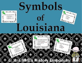LOUISIANA  State Symbols Task Cards