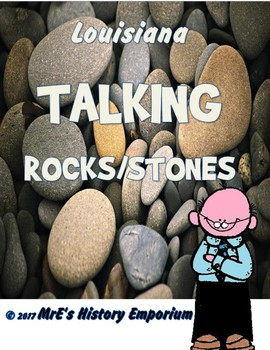 LOUISIANA   Teacher Talking Rocks/Stones