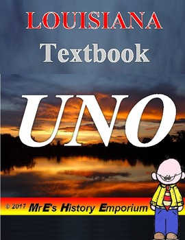 LOUISIANA   Textbook UNO game