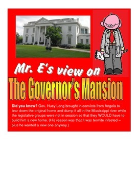 LOUISIANA - The Governor's Mansion