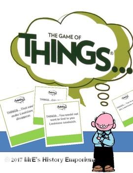 LOUISIANA Things, the game