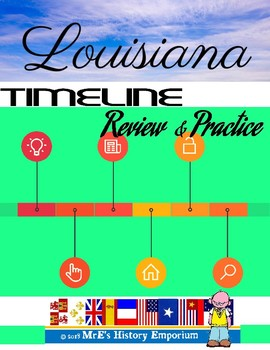 LOUISIANA Timeline reviws and Practice