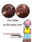 LOUISIANA - Two Sides of Same Coin