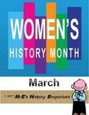 LOUISIANA/U.S. MARCH is Women's History Month