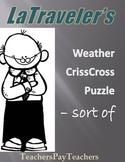 LOUISIANA- Weather Criss Cross - sort of