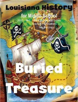 LOUISIANA - Buried Treasure, searching L&L