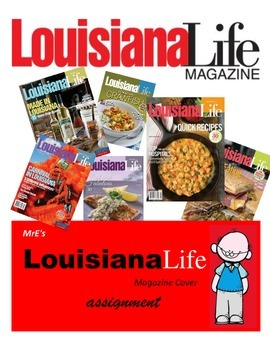 LOUISIANALife magazine cover