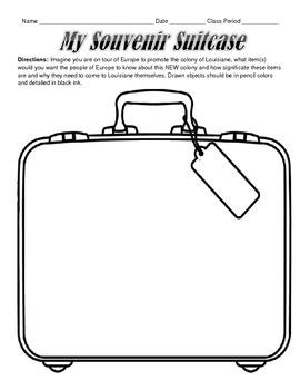 LOUISIANE - My Souvenir Suitcase