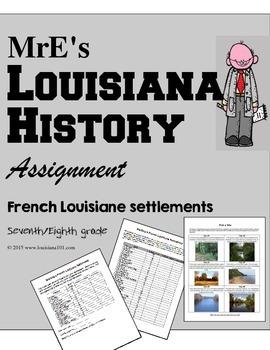 LOUISIANE- Settlement project