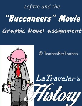 LOUISIANA - Buccaneers Movie graphic novel