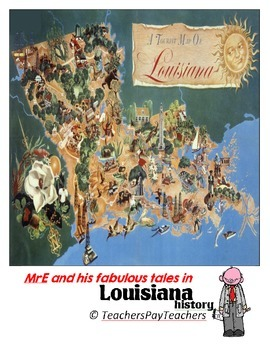 LOUISIANA - Towns/cities #1