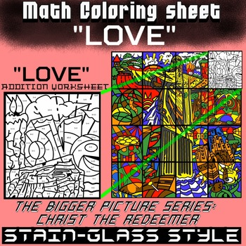 LOVE, Math addition - Bigger picture series (Redeemer) Math