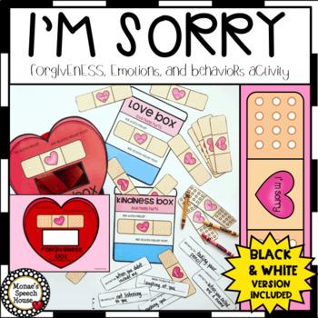LOVE EMOTIONS BEHAVIORS LOW PREP No Prep worksheets