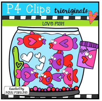 LOVE Fish (P4 Clips Trioriginals)