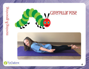 Valentine's Day: LOVE from The Very Hungry Caterpillar Yoga Pose Cards w/Game