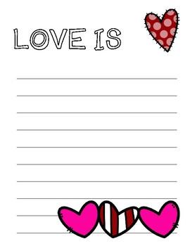 LOVE IS Creative Writing