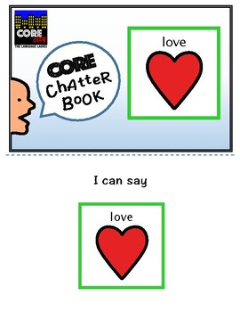 LOVE: Interactive CORE City Chatter Book