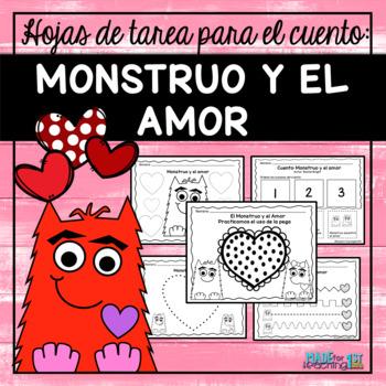 LOVE MONSTER / MONSTRUO Y EL AMOR - Spanish Activities