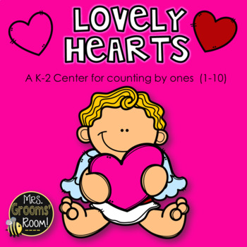 LOVELY HEARTS:  A Counting Center to 10