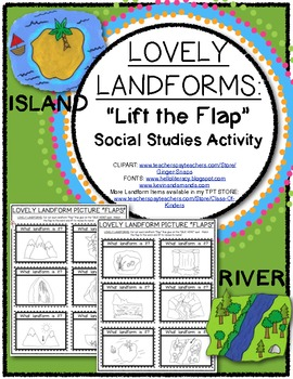 LOVELY LANDFORMS Lift the Flap
