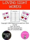 February Sight Word Game