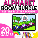 Digital ALPHABET ACTIVITIES  for Letters and Letter Sounds  |  BOOM Games