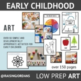 LOW PREP Art Resource Package for Early Childhood