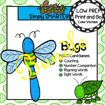 LOW PREP Bugs Card Games Bundle