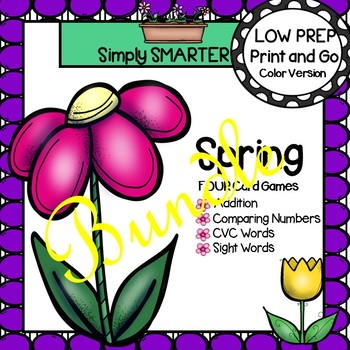 LOW PREP Spring Card Games Bundle