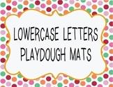 LOWER CASE LETTERS PLAY DOUGH MATS