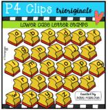 LOWER CASE Letter Stamps (P4 Clips Trioriginals Clip Art)